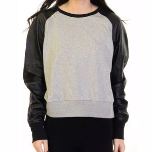 Nike Sportswear Cotton Lamb Leather Sweatshirt